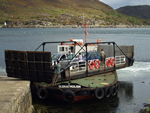 Turntable ferry, Kylerhea, Skye